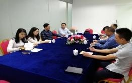 全国课程装备中心李元伟主任到我单位指导工作