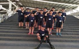 小红军、小特警夏令营第一期