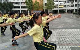 增城实验小学一至三年级学生训练